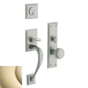 Lifetime Polished Brass Concord Entrance Trim Product Image
