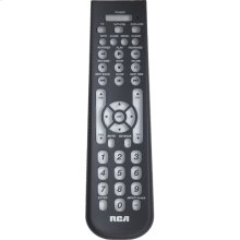 3 device universal remote with contemporary thin design