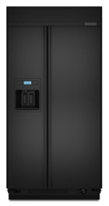 """Side-by-Side Dispensing 25.3 cu. ft. 42"""" Width Requires Custom or Accessory Panels"""