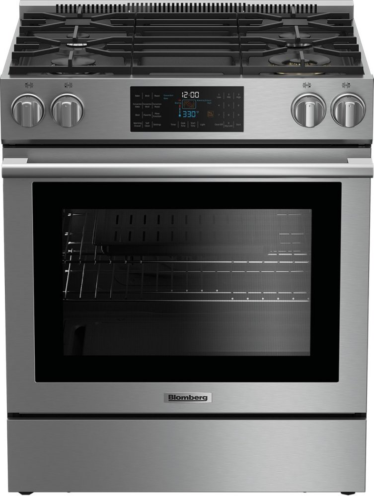 30 gas range kitchen 30 clfdbgr30420ss in by blomberg appliances waltham ma