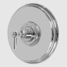 """3/4"""" Round Deluxe Thermostatic Shower Set with 158 Handle"""