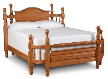 Arch Top Wrap-Around Bed, California King