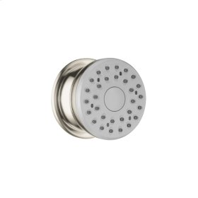 Brushed Nickel Bodyspray with Stop
