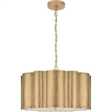 Visual Comfort AH5215G-FA Alexa Hampton Markos 4 Light 26 inch Gild Pendant Ceiling Light, Large