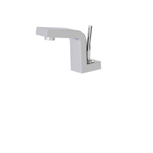 Under counter single-hole lavatory faucet