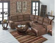 Corner Wedge, Brown Fabric Product Image