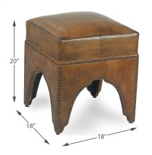 Giuseppe Footstool, Light Brown
