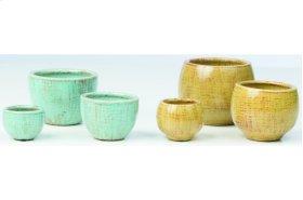 Titania Fairy Garden Pots - 2 Sets of each