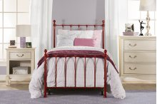 Molly Twin Bed Set Red