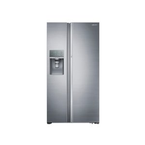 Samsung Appliances22 cu. ft. Food Showcase Counter Depth Side-by-Side Refrigerator with Metal Cooling in Stainless Steel