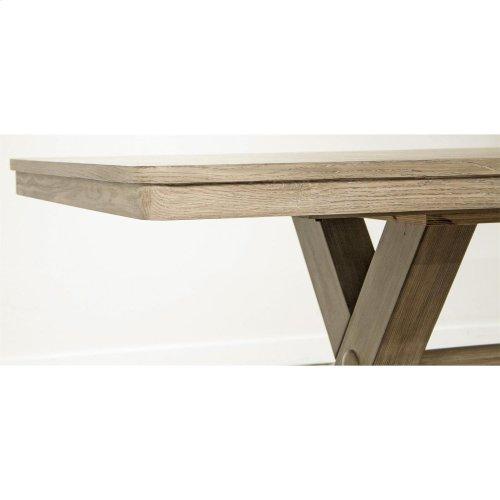 Sophie - Table Base - Natural Finish