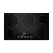 KitchenAid® 36-Inch 5-Element Electric Cooktop, Architect® Series II - Black