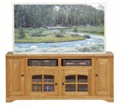 """Thin 66"""" Tall Entertainment Console"""
