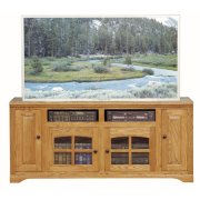 "Thin 66"" Tall Entertainment Console Product Image"