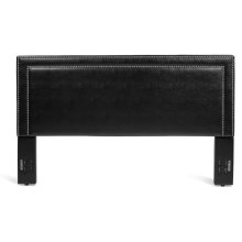 Banff Headboard - Full/Queen, Black