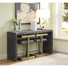 Console with 2 Stools