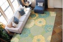 Home & Garden Rs021 Gre Rectangle Rug 7'9'' X 10'10''