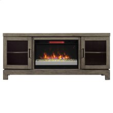 Berkeley TV Stand with Electric Fireplace