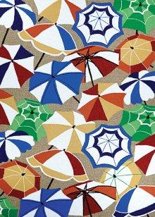 Parasol Paradise - Sand-Multi 7551/0551