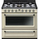 "Free-standing All-Gas ""Victoria"" Range 36"" - Cream enamel Product Image"