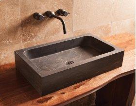 Milano Sink Antique Gray Limestone