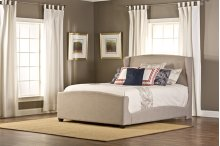 Barrington Queen Bedset With Fabric Side Rails