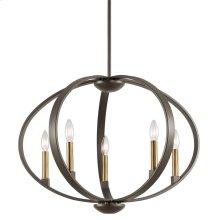 Elata Collection Elata 5 Light Chandelier/Pendant OZ