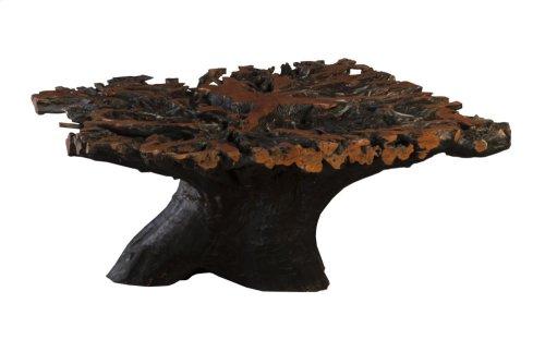 Lychee Root Dining Table Base, Round