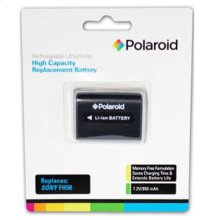 Polaroid Rechargeable Battery Sony FH50 Replacement
