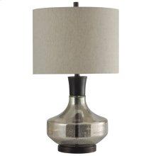 Alamos  Mercury Glass & Metal Table Lamp