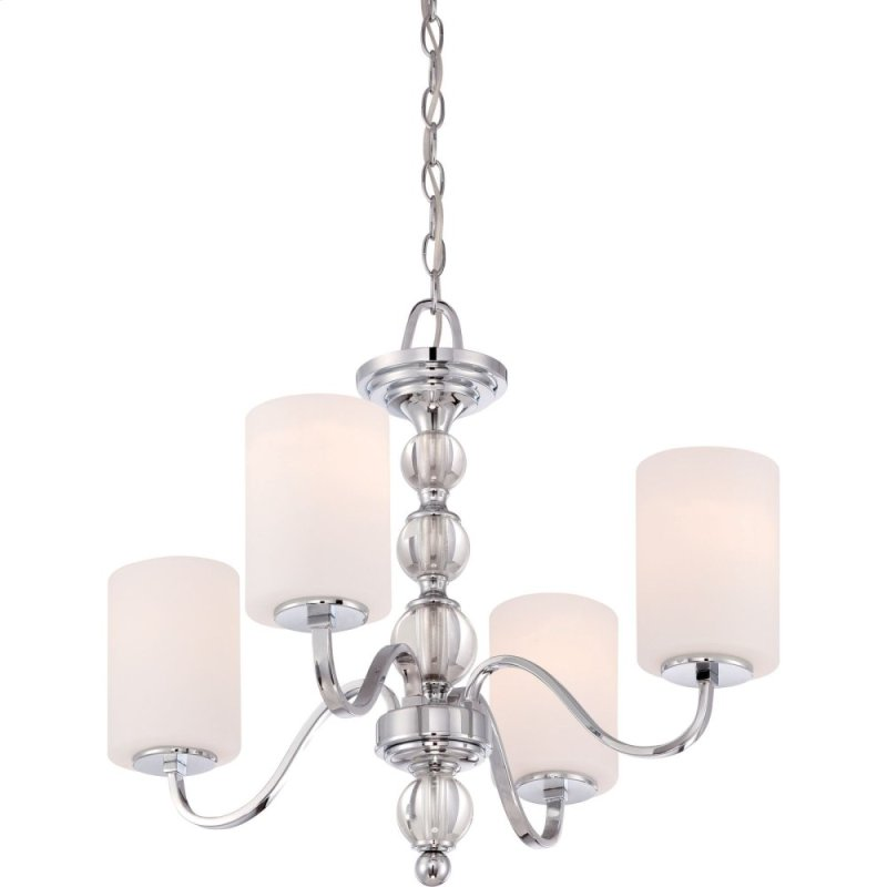Downtown Chandelier In Polished Chrome