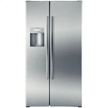 Counter Depth Side by Side Refrigerator 800 Series - Stainless Steel