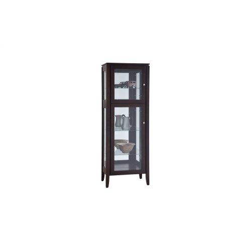 1 Door Curio Cabinet