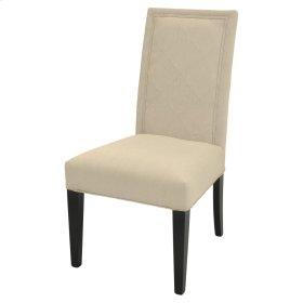 Cole Fabric Chair Espresso Legs, Sand