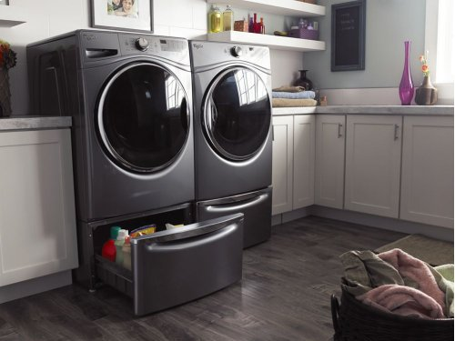 [LIGHTLY USED] 4.5 cu.ft Front Load Washer with Adaptive Wash Technology, 8 cycles. Clearance stock is sold on a first-come, first-served basis. Please call (717)299-5641 for product condition and availability.
