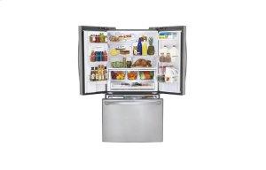 24 cu. ft. Counter-Depth 3-Door French Door Refrigerator