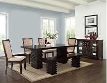 "Briana Bench Legs, 18""H (1 SET LEGS/BOX)"