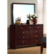Serenity Rich Merlot Dresser Mirror