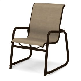 Reliance Contract Sling Stacking Sled Base Arm Chair