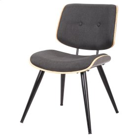 Porter KD Fabric Chair, Graphic Gray