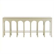 Crestaire - Brooks Console Table In Capiz