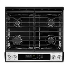 30-inch Gas Range with Front Console