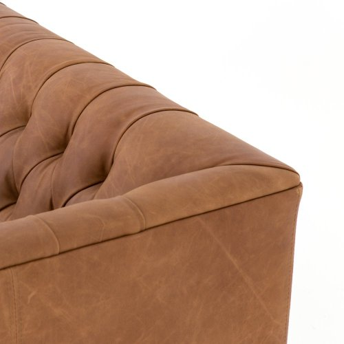 "Williams Leather Sofa-75""-nat Wash Camel"