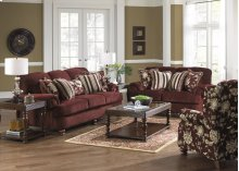 Loveseat - Merlot