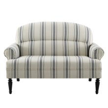 Uph Roll Arm Sofa - Cambridge Stripe