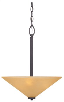 Inverted Pendant in Oil Rubbed Bronze