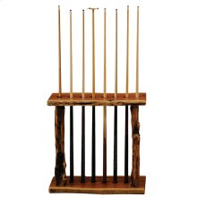Juniper Floor Pool Cue Rack