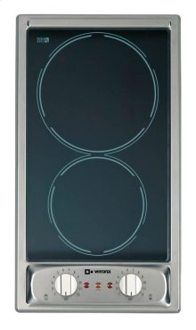 """Stainless Steel 12"""" Ceramic Smooth Top Electric Cook Top"""
