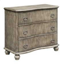 Hamilton Curved 3 Drawer Chest in Heritage Birch Finish