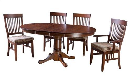 """45-2-12"""" Leaf Pedestal Table"""